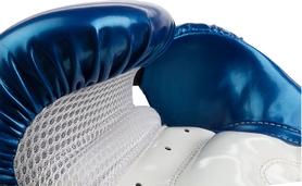 Фото 3 к товару Перчатки для тай-бо Torneo A-305B синие