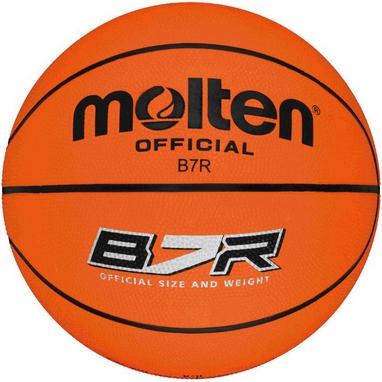 Мяч баскетбольный резиновый Molten Professional B7R
