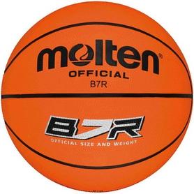 Фото 1 к товару Мяч баскетбольный резиновый Molten Professional B7R