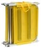 Шезлонг складной 17 ATK Украина желтый - фото 2