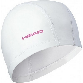 Шапочка для плавания Head Lycra PU белая