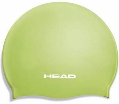 Шапочка для плавания Head Silicone Flat JR зеленая