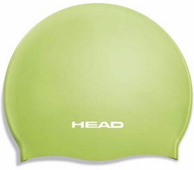 Шапочка для плавания Head Silicone Flat JR зеленая