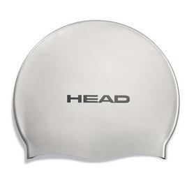 Фото 1 к товару Шапочка для плавания Head Silicone Flat single color pearl silver