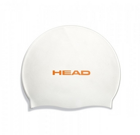 Шапочка для плавания Head Silicone Flat single color pearl white