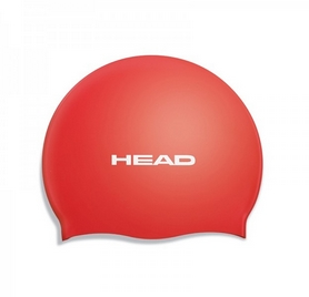 Шапочка для плавания Head Silicone Flat single color pearl red