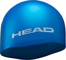 Фото 1 к товару Шапочка для плавания Head Silicone Moulded MID голубая
