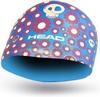 Шапочка для плавания детская Head Silicone Sketch Fish голубая - фото 1