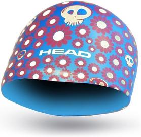 Шапочка для плавания детская Head Silicone Sketch Fish голубая