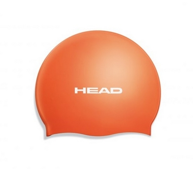 Шапочка для плавания Head Silicone Flat single color pearl orange