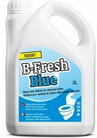 Фото 1 к товару Жидкость для биотуалетов Thetford B-Fresh Blue 2 л