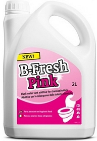 Фото 1 к товару Жидкость для биотуалетов Thetford B-Fresh Pink 2 л