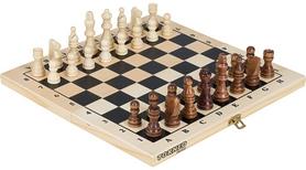 Набор настольных игр 2 в 1 (шахматы и шашки деревянные) Torneo TRN-SH1