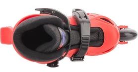 Фото 5 к товару Коньки роликовые + шлем и защита Reaction красный/черный