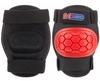 Коньки роликовые + шлем и защита Reaction красный/черный - фото 8