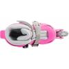 Коньки роликовые + шлем и защита Reaction розовый - фото 5