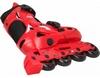 Коньки роликовые раздвижные Reaction Galaxy Kid's adjustable inline skates GL13RB - фото 2