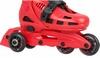 Коньки роликовые раздвижные Reaction Galaxy Kid's adjustable inline skates GL13RB - фото 3