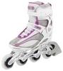 Коньки роликовые женские Reaction Women's Inline Skates R206W-0P белые - фото 1