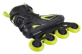 Фото 3 к товару  Коньки роликовые мужские Reaction Men's Inline Skates R706M9G черные с салатовым