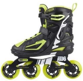 Фото 5 к товару  Коньки роликовые мужские Reaction Men's Inline Skates R706M9G черные с салатовым