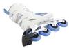 Коньки роликовые женские Reaction Women's Inline Skates R706W-0Z белый/синий - фото 3