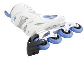 Фото 3 к товару Коньки роликовые женские Reaction Women's Inline Skates R706W-0Z белый/синий