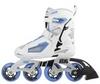 Коньки роликовые женские Reaction Women's Inline Skates R706W-0Z белый/синий - фото 5