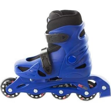 Коньки роликовые раздвижные детские Reaction Kid's inline skates of extension-type RC15BZ3 синие