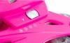 Коньки роликовые раздвижные детские Reaction Kid's inline skates of extension-type RC15GX2 розовый - фото 2