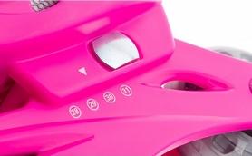 Фото 2 к товару Коньки роликовые раздвижные детские Reaction Kid's inline skates of extension-type RC15GX2 розовый