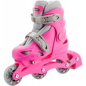Фото 4 к товару Коньки роликовые раздвижные детские Reaction Kid's inline skates of extension-type RC15GX2 розовый