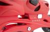 Коньки роликовые раздвижные детские Reaction RC16B-R9 красный/черный - фото 6