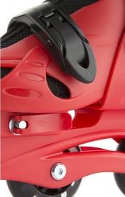 Фото 8 к товару Коньки роликовые раздвижные детские Reaction RC16B-R9 красный/черный