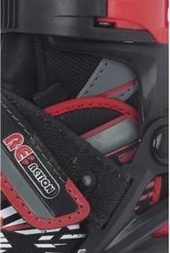 Фото 7 к товару Коньки роликовые раздвижные детские Reaction RN16B-9R черный/красный