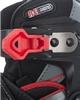 Коньки роликовые раздвижные детские Reaction RN16B-9R черный/красный - фото 8