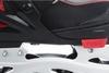 Коньки роликовые раздвижные детские Reaction RN16B-9R черный/красный - фото 10