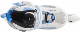 Фото 4 к товару Коньки роликовые раздвижные детские Reaction TR15G0Z белый/синий