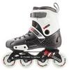 Коньки роликовые Reaction Inline skates URB14-BR черный/красный - фото 1