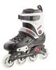 Коньки роликовые Reaction Inline skates URB14-BR черный/красный - фото 4