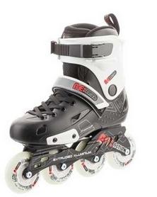 Фото 4 к товару Коньки роликовые Reaction Inline skates URB14-BR черный/красный
