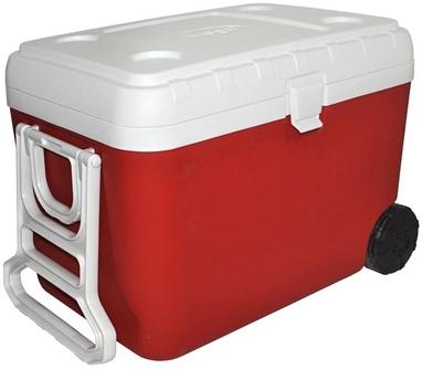 Термоконтейнер Mega (48 л) красный