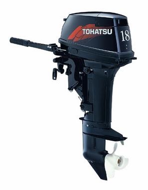 Мотор лодочный двухтактный Tohatsu M18E2 S