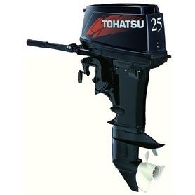 Фото 1 к товару Мотор лодочный двухтактный Tohatsu M25H S