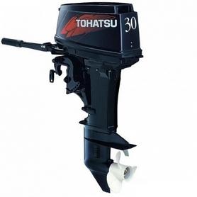 Фото 1 к товару Мотор лодочный двухтактный Tohatsu M30H L