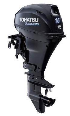 Мотор лодочный четырехтактный Tohatsu MFS15D EPS