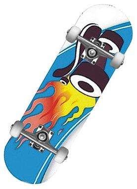 Мини-скейтборд MaxCity Hot Wheels