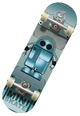Мини-скейтборд Спортивная коллекция Robot