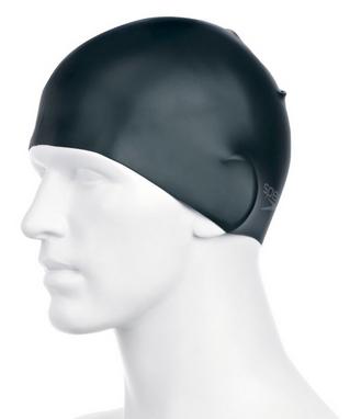 Шапочка для плавания Speedo Silc Moud Cap AU Black