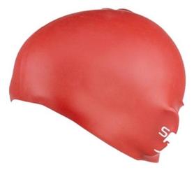 Фото 3 к товару Шапочка для плавания детская Speedo Plain Moulde Silicone Junior Cap Red